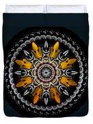 Black Velvet Duvet Cover