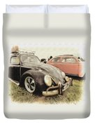 Black Vw Duvet Cover