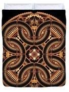 Black Walnut Interlock Duvet Cover