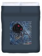 Black Widow Duvet Cover