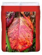 Blackberry Leaf In The Fall 3 Duvet Cover