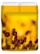 Blackweyed Susan Stamens Duvet Cover
