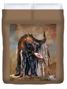 Blackfoot Medicine Man Duvet Cover