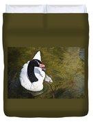 Blacknecked Swan Duvet Cover