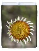 Blacksamson Echinacea Duvet Cover