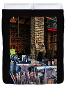 Blacksmith - All The Tools Duvet Cover