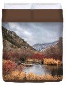 Blacksmith Fork Canyon Duvet Cover
