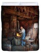 Blacksmith - The Importance Of The Blacksmith Duvet Cover