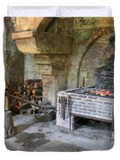 Blacksmiths Workshop Duvet Cover