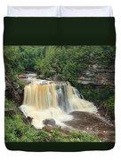 Blackwater River Falls West Virginia Duvet Cover