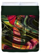 Blades In The Layered Worlds Duvet Cover