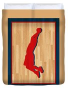 Blake Griffin Los Angeles Clippers Duvet Cover