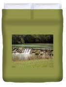 Blanco River Weir Duvet Cover