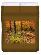 Blazing Forest Duvet Cover