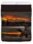 Blazing Sunset II Duvet Cover