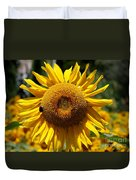 Blazing Yellow Sunflower Duvet Cover