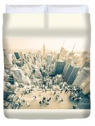 Bleached Manhattan Duvet Cover