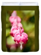Bleeding Heart Blossom  Duvet Cover