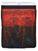 Bleeding Sky Duvet Cover by Sergey Bezhinets