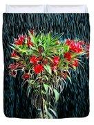 Blessed Rain Duvet Cover