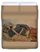 Blessed Virgin Mary Duvet Cover