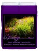 Blessings Duvet Cover