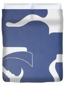 Bleu Sensation Duvet Cover