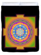 Bliss Yantra Duvet Cover