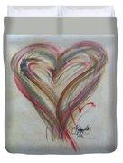 Blissful Heart Duvet Cover