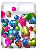 Blobs Of Fun... Duvet Cover