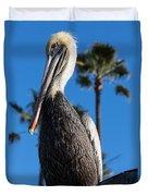 Blond Pelican Duvet Cover