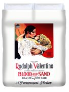 Blood And Sand 1922 Duvet Cover
