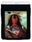 Blood Head Chief, 1832 Duvet Cover