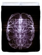 Blood Supply To The Brain Duvet Cover
