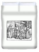 Bloodletting, 1540 Duvet Cover