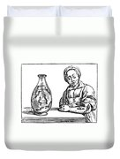 Bloodletting, 1638 Duvet Cover