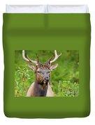 Bloody Elk Duvet Cover