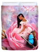 Bloom In The Hand Of The Father Duvet Cover