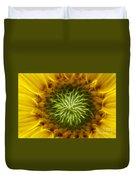 Bloom Of The Sunflower Duvet Cover