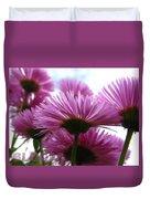 Bloom Pink Daisies Duvet Cover