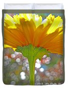 Bloom Yellow Daisy Duvet Cover