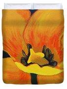 Bloomed Yellow Tulip Duvet Cover