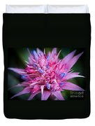 Blooming Bromeliad Duvet Cover