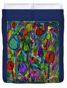 Blooming Color Duvet Cover