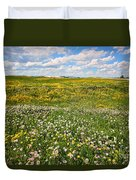 Blooming Fields Duvet Cover