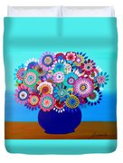 Blooming Florals 1 Duvet Cover