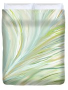 Blooming Grass Duvet Cover by Lourry Legarde