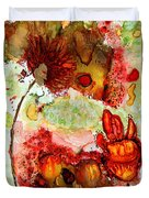 Blooming Impressions.. Duvet Cover