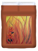 Blooming In Hell 1 Duvet Cover