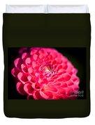 Blooming Red Flower Duvet Cover